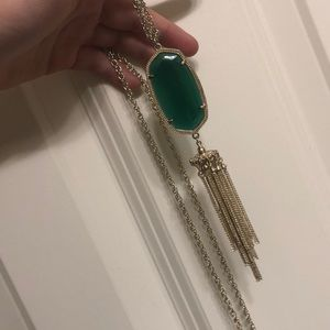 Emerald Kendra Scott necklace